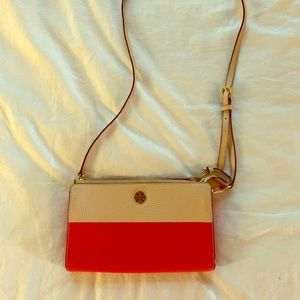 Tory Burch Two Tones Perry Colorblock Shoulder Bag